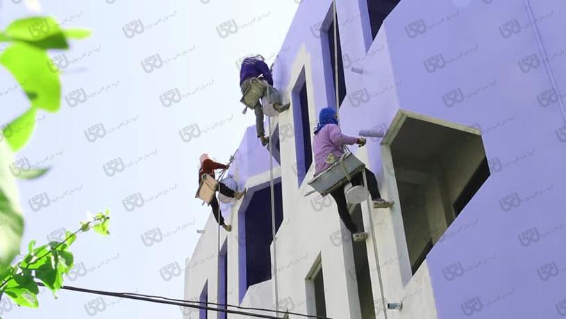 عمده فروشی رنگ ساختمانی