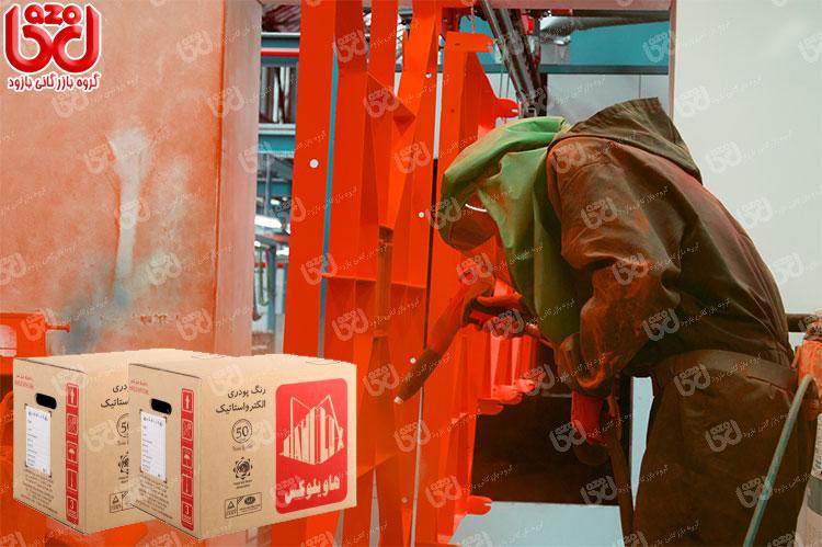 فروش رنگ پودری الکترواستاتیک