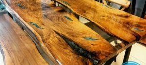 رنگ اپوکسی چوب
