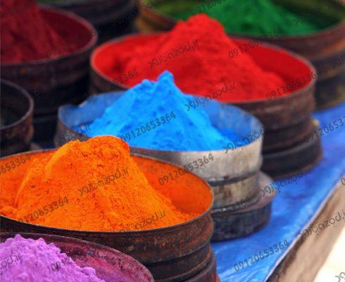 نمایندگی فروش رنگ پودری الکترواستاتیک