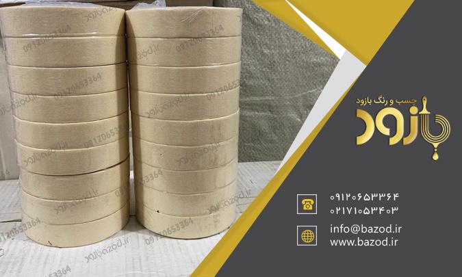 صادرات چسب کاغذی عمده